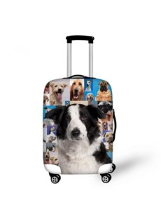 Adorable Kinds of Dog Pattern 3D Painted Luggage Cover