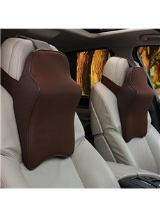 3D Full Coverage Cost-Effective Memory Foam Single Set Car Headrest