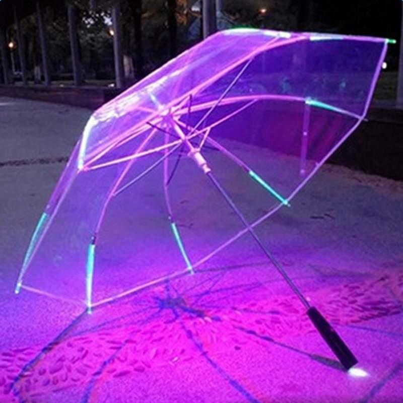 LED Light up Lightsaber with 7 Color Flashlight Luminous Umbrella