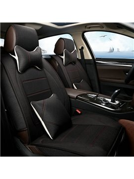 Classic And Formal Protective Material Single Solid Colored Universal Car Seat Cover