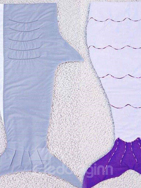 Super Soft Multi Color Option Mermaid Tail Design Blanket