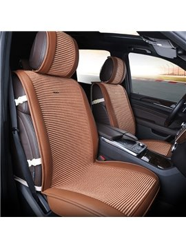 Simple Luxury Design With Durable PET Material Universal Five Car Seat Cover
