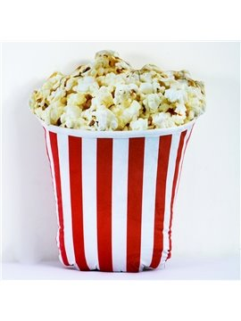 Popular Popcorn Design PP Cotton Decorative Throw Pillow