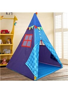 Cute Geometric Pattern Kids Indoor Tent Tepee