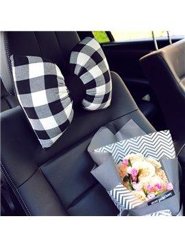 Fashion Bow Style Design Beautiful Car Headrest Pillow