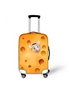 Funny Rat in Choose Pattern 3D Painted Luggage Cover