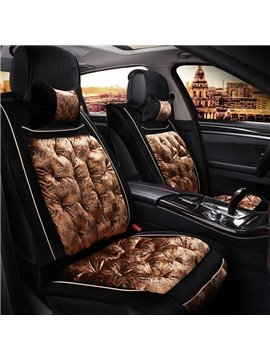 Luxury Series Shinny Surface Classy Colors Leather Universal Fit Car Seat Covers