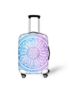 Cool Abstract Pattern 3D Painted Luggage Protect Cover