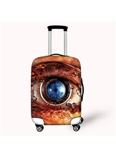 Special Abstract Big Eye Pattern 3D Painted Luggage Protect Cover