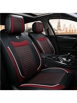 New Fashion Design With Cool Mixing Color Style Easy Install Universal Five Car Seat Cover