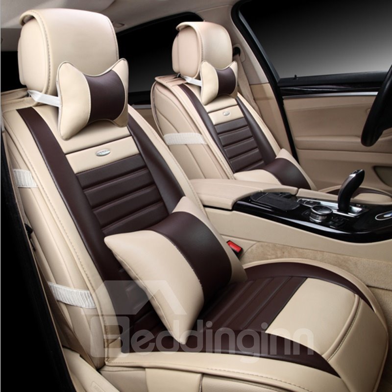 Popular Simple Design Good Matched Effect Durable PU Material Universal Car Seat Cover