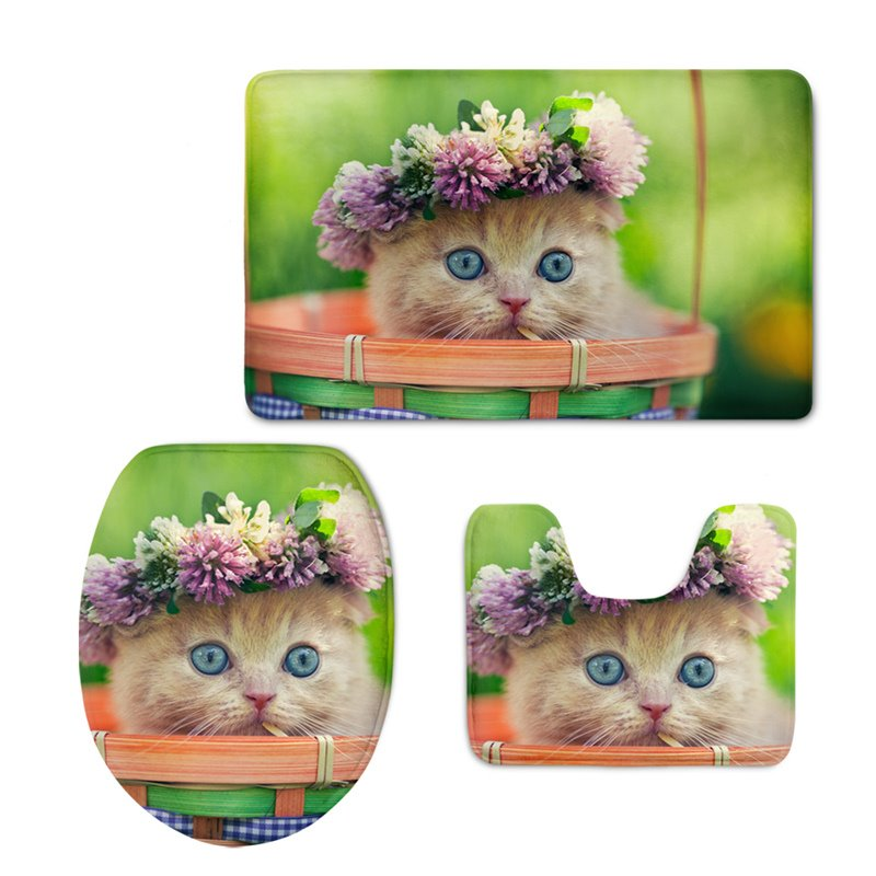 Cute Kitty Toilet Seat Cover