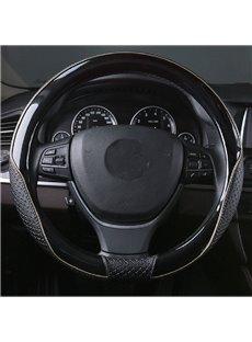 Durable New Popular Design Anti-Skid PU Material Medium Car Steering Wheel Cover
