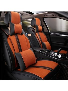 Colorful Thick Stretch-Resistant Good Rubbing Universal Five Car Seat Cover