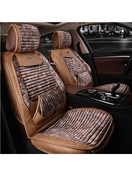Classic Contrast-Color Business Luxury High-Grade Material Cost-Effective Universal Leather Car Seat Cover