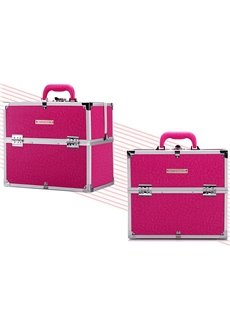 Rose PU Makeup Cosmetic Jewelry Storage Case Box