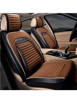 Cooked Skin Craft Rubbing Classic Business Fashion Mash Up Material Universal Five Car Seat Cover