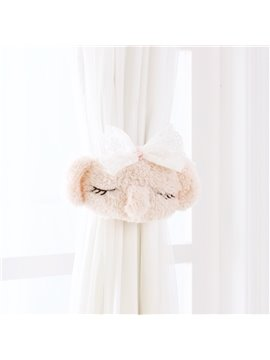 Pink Koala Design Buckle Window Curtain Tieback