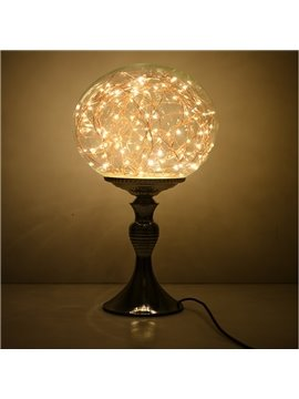Classic Creative Dimming Control Glass Lamp Shade Decorative Table Lamp