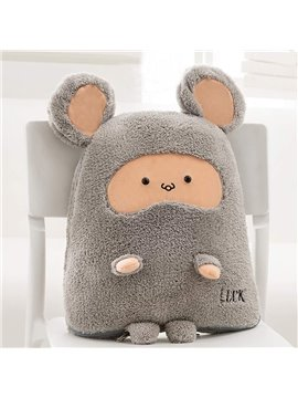 Cute Cartoon Mouse Pattern Design Three Kinds Of Use Multi-Functional Car Pillow