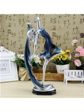 European Style Resin Beautiful Dancing Girl Design Desktop Decoration