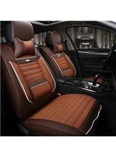 Classic Business Coffee Style Design 3D Style Cost-Effective Universal Car Seat Cover