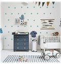 Concise Polka Dot Design Kids Wall Decals