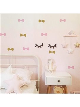 Lovely Bowknot Design More Colors Option Wall Decal