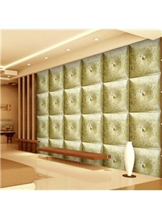 Modern Creative Three-dimensional Plaid Design Living Room Decoration Wall Murals