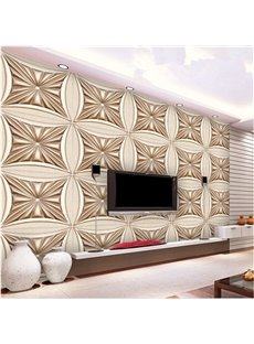 Special Modern Design Flower Pattern Living Room Decoration Wall Murals