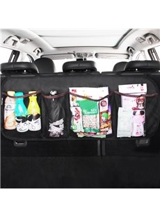 Super Long And High Capacity Waterproof Oxford Cloth Car Chair-Back Organizer