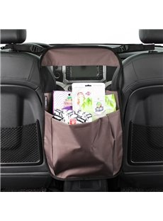 New Simple Design Hanging Suspension Oxford Cloth High Capacity Car Chair-Back Organizer