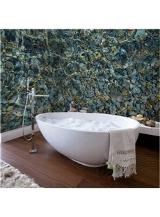 Classic Pebbles in the Water Design Waterproof 3D Bathroom Wall Murals