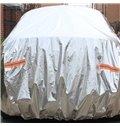 Full Car Body Cover Customed-Fit Popular Non-Woven Fabrics With Aluminum Foil Material Car Sun Shades