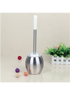 Bathroom Stainless Steel Toilet Brush Holder Set