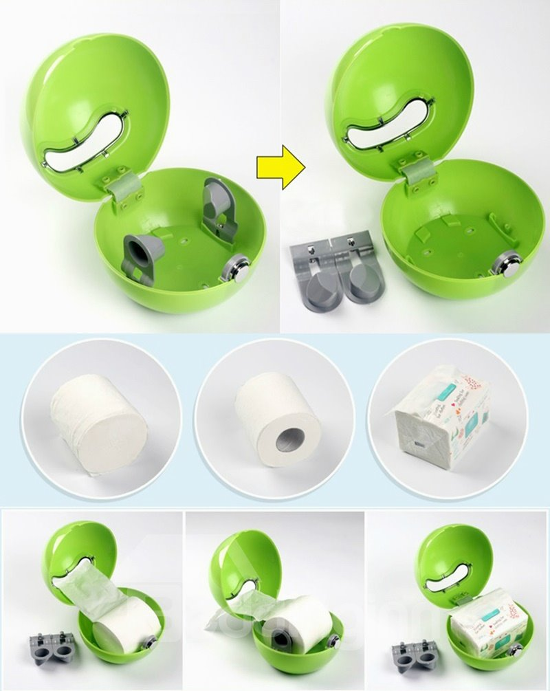 Creative Green Acrylic Toilet Paper Holder