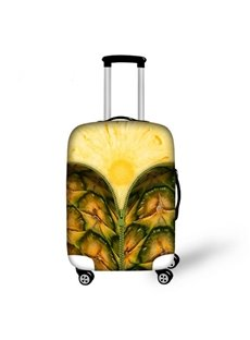 Pineapple Pattern 3D Painted Luggage Cover