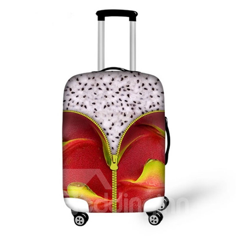 Special Pitaya Pattern 3D Painted Luggage Cover