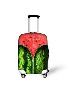 Unique Watermelon Pattern 3D Painted Luggage Cover