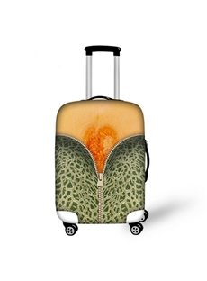 Special Hami Melon Pattern 3D Painted Luggage Cover
