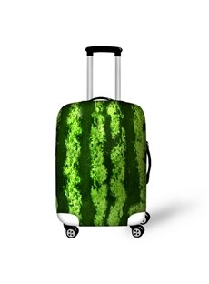 Watermelon Peel Pattern 3D Painted Luggage Cover