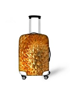 Durian Peel Pattern 3D Painted Luggage Cover