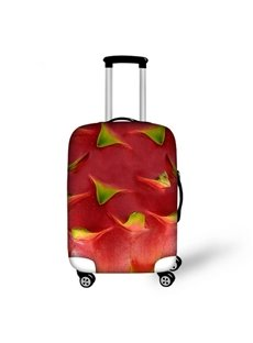 Vivid Pitaya Peel Pattern 3D Painted Luggage Cover