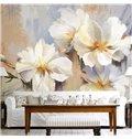Unique Modern Design Flowers Pattern Waterproof 3D Wall Murals