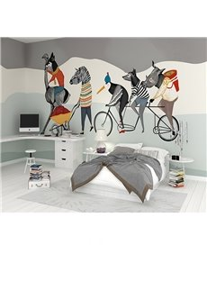 Abstract Creative Animal Pattern Design Waterproof 3D Wall Murals