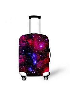 Shining Galaxy Pattern 3D Painted Luggage Cover
