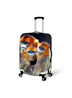Fashion Apes Pattern 3D Painted Luggage Cover