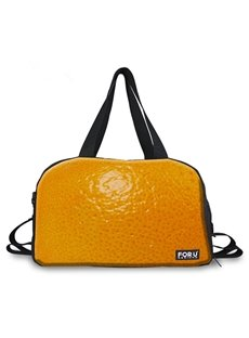 Adorable Orange Peel Pattern 3D Painted Travel Bag