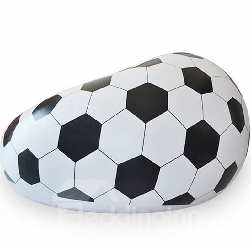 Popular Soccer Design Inflatable Lazy Sofa Tatami Seat