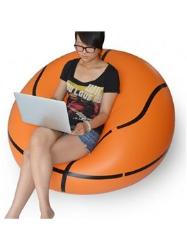 Vivid Basketball Design Inflatable Lazy Sofa Tatami Seat